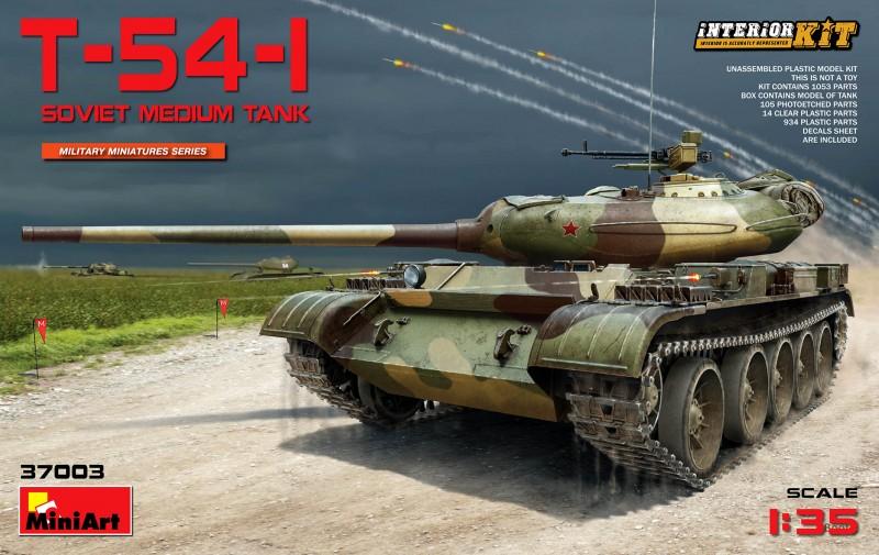 T-54-1 Soviet Medium Tank Interior Kit