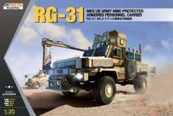 RG-31 Mk5 US Army Mine-protected Armored Personnel Carrier
