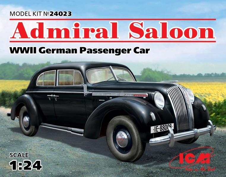 Admiral Saloon WWI German Passenger Car