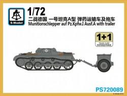 Munitionschlepper auf Pz.IA with trailer