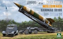 WWII German V-2 Rocket Transporter/Erect Meillerwagen+Hanomag SS100