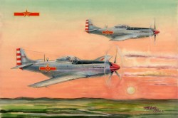 PLAAF P-51D/K Mustang Fighter