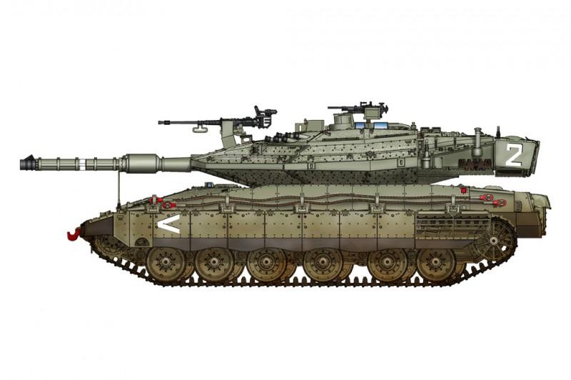 Israeli Merkava Mk IV