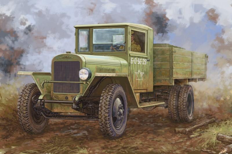 Russian ZIS-5B Truck