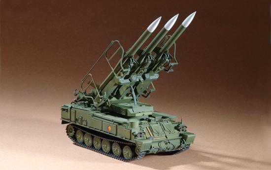 Russian SAM-6 antiaircraft missile