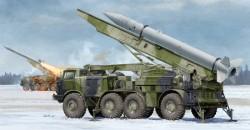 Russian 9P113 TEL w/9M21 Rocket of 9K52 Luna-M Short-range artillery rocket