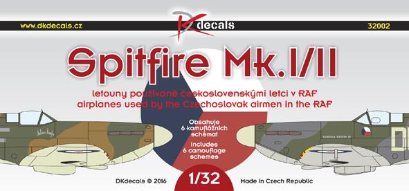 Spitfire Mk.I/II československých pilotů v RAF