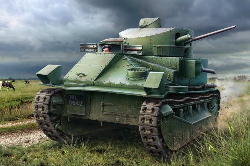 Vickers Medium Tank Mk II