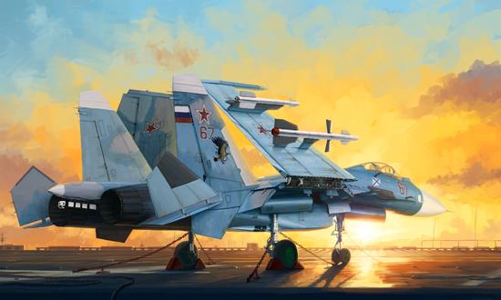 Russian Su-33 Flanker D