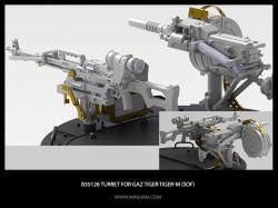 Turret for GaZ Tiger/Tiger-M (SOF) includes light machine gun Pecheneg, grenade launcher AGS-17
