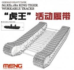 German Heavy Tank Sd.Kfz.182 King Tiger Workable Tracks