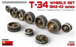 T-34 Wheels Set.1942-43 Series