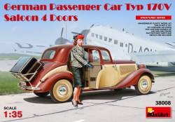 German Passenger Car Typ 170V.Saloon 4 Doors