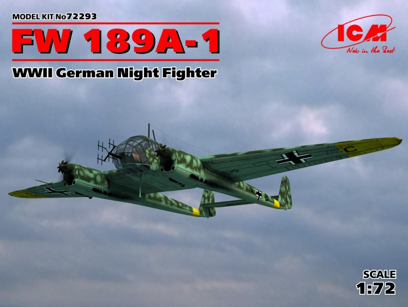 FW 189A-1 WWII German Night Fighter
