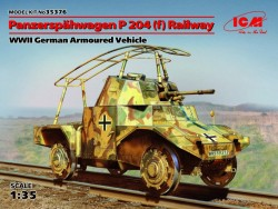 Panzerspähwagen P204(f) Railway WWII German Armoured Vehicle