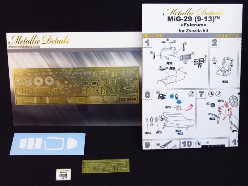 Mig- 29 9-13 detaling set (Zvezda)