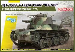 "IJA Type 4 Light Tank """"Ke-Nu"""" (Smart Kit)"