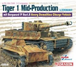 Pz.Kpfw.VI Ausf.E Tiger I Mid Remote Controller mit Borgward Ausf.A Heavy Demolition Vehicle