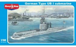 German Type UB-1 submarine