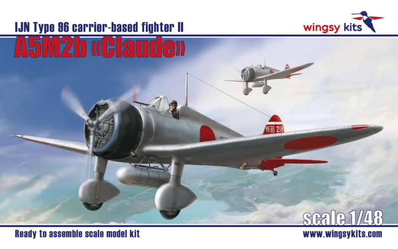 """A5M2b """"Claude"""" IJN Type 96 WWII carrier-based fighter, late"""