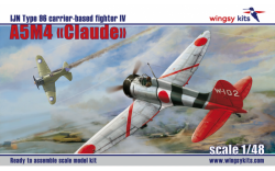 """A5M4 """"Claude"""" IJN Type 96 carrier-based fighter IV"""