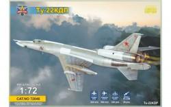 Tupolev Tu-22KDP with Kh-22 missile