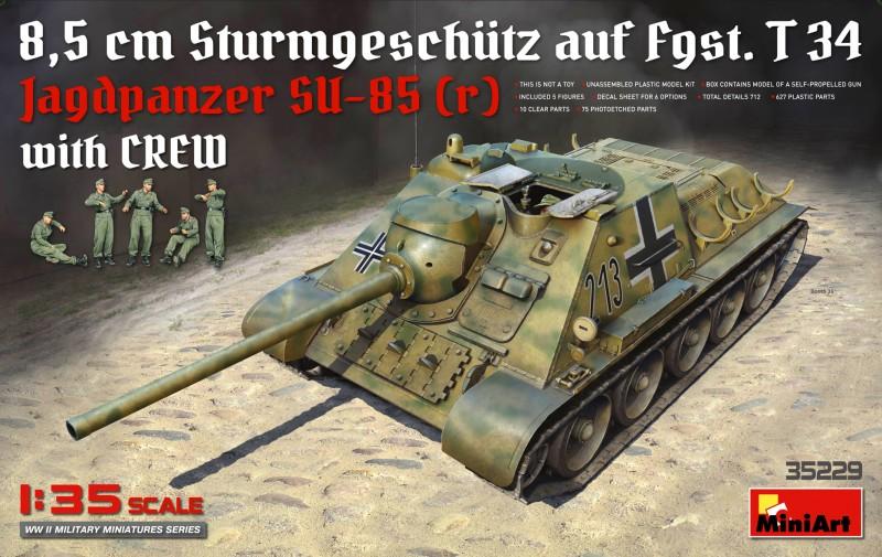 Jagdpanzer SU-85 (R) w/CREW