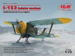I-153,WWII Finnish Air Force Fighter winter version