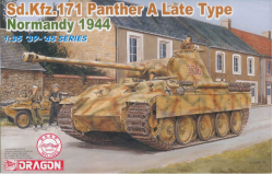 Sd.Kfz. 171 PANTHER A LATE TYPE, NORMANDY 1944