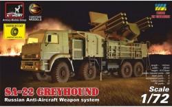 "ZPRK 96K6 ""Pantsir-C1"" (SA-22 Greyhound), Russian AA weapon system, RESIN WHEELS"