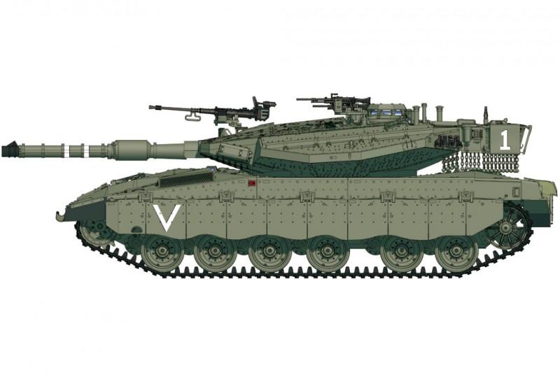 IDF Merkava Mk.IIID(LIC)