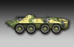 Russian BTR-70 APC late version