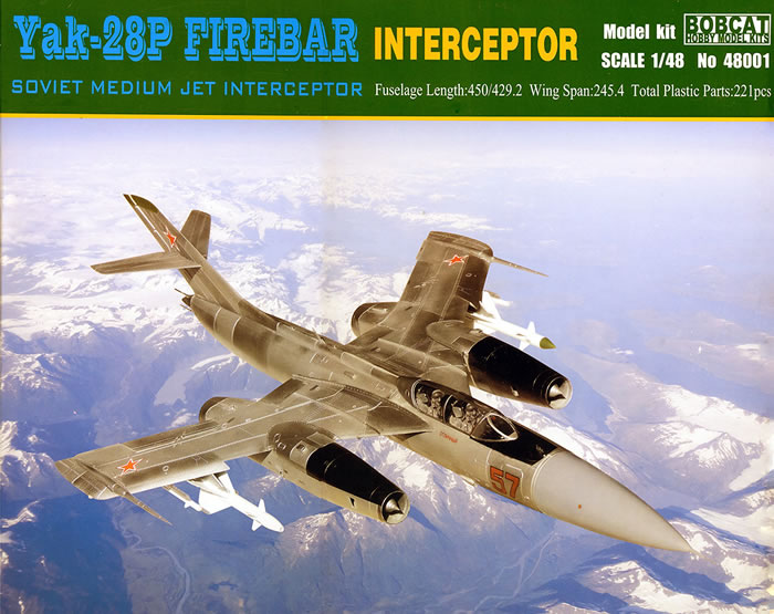 Yak-28P Firebar Interceptor Soviet Medium Jet Interceptor