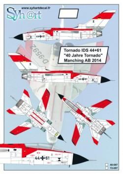 """Tornado IDS 44+61 """"40 Years Tornado"""" Manching AB 2014"""