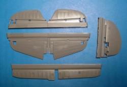 P-40E/N control surfaces
