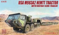 USA M983A2 HEMTT Tractor & M870A1 Semi-trailer