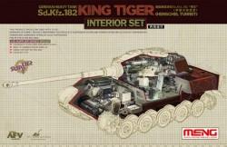 German Heavy Tank Sd.Kfz.182 King Tiger (Henschel Turret)Interior Set