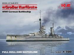Großer Kurfürst (Full hull) WWI German Battleship
