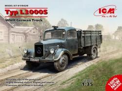 Typ L3000S, WWII German Truck