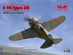 I-16 type 28 WWII Soviet Fighter
