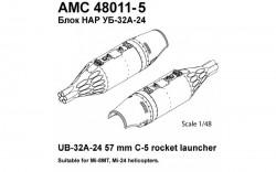 UB-32A-24 57mm C-5 rocket launcher
