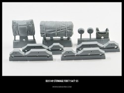 Stowage for T-54,T-55