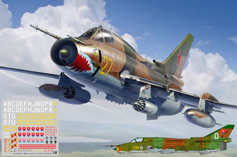 Su-17/22M4 Fitter Slovak Pack mini