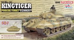 Sd.Kfz.182 Kingtiger Porsche Turret w/Zimmerit (2 in 1)