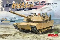 USMC M1A1 AIM/U.S.Army M1A1 Abrams TUSK Main Battle Tank