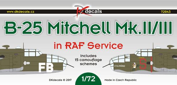 B-25 Mitchell in RAF Service