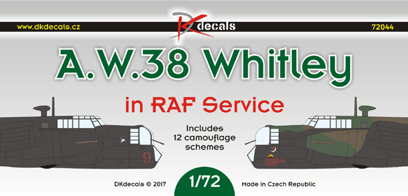 A.W.38 Whitley in RAF Service