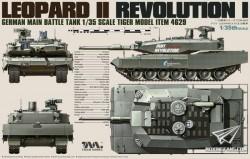 GERMAN REVOLUTION I GERMAN LEOPARD II MAIN BATTLE TANK