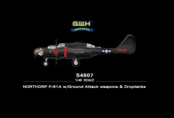 NORTHORP P61A WITH GROUND ATTACK WEAPONS