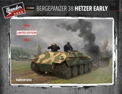 BergePanzer 38 Hetzer Early Limited Edition with Engine compartment + PE upgrade